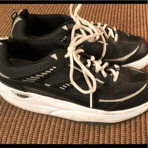 Danskin Now Navy Exercise Sneakers Shoes 8.5